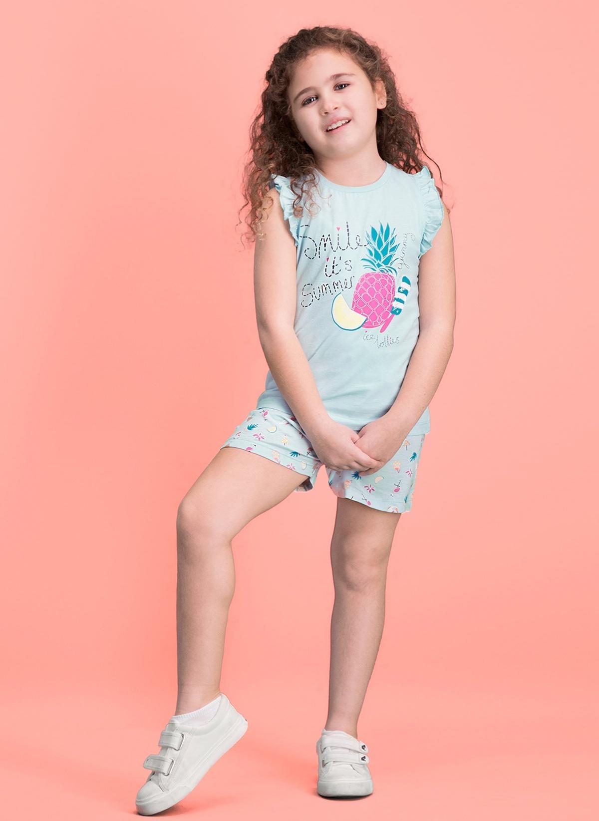 Kız Çocuk Roly Poly Pijama Takım